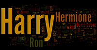 Harry potter and the deathly hallows word cloud harry potter vs twilight 32075109 500 262